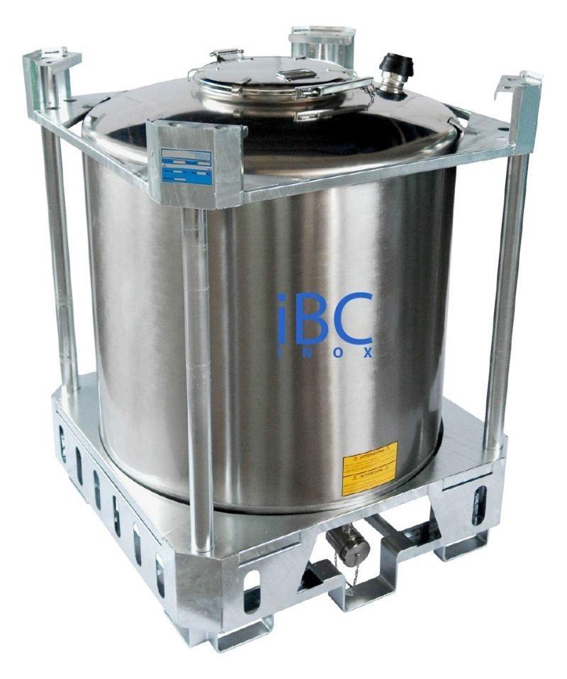Container IBC 1000 - 1250 litri model PCI cu certificat ADR