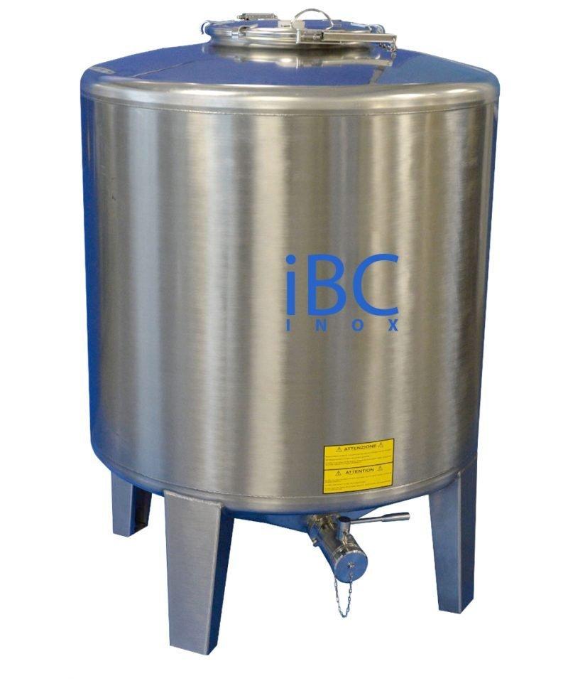 Container IBC tip MTL pe picioare