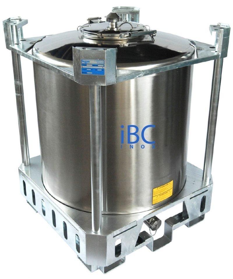 Container tip IBC superpozabil model PC, 500 - 1000 litri