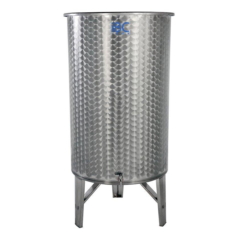 Butoi inox capac flotant vin